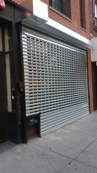 Slotted Steel Gate